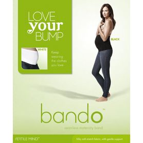 Fertile Mind Bando Black Medium/Large