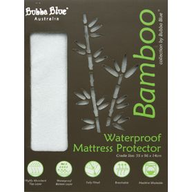 Bubba Blue Bamboo Mattress Protector Cradle
