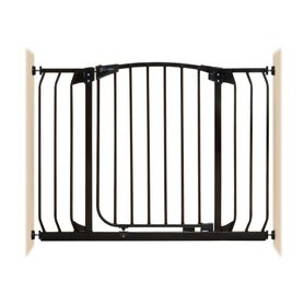 Dreambaby Chelsea Xtra-Wide Auto-Close Gate Pressure Mounted Fits Gaps 97-108 (cm) Black
