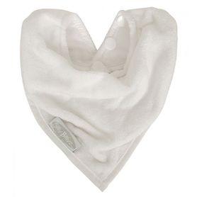 Silly Billyz Towel Bandana Bib White