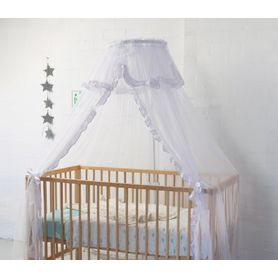 Sweet Dreams Halo Net Stand & Valance White