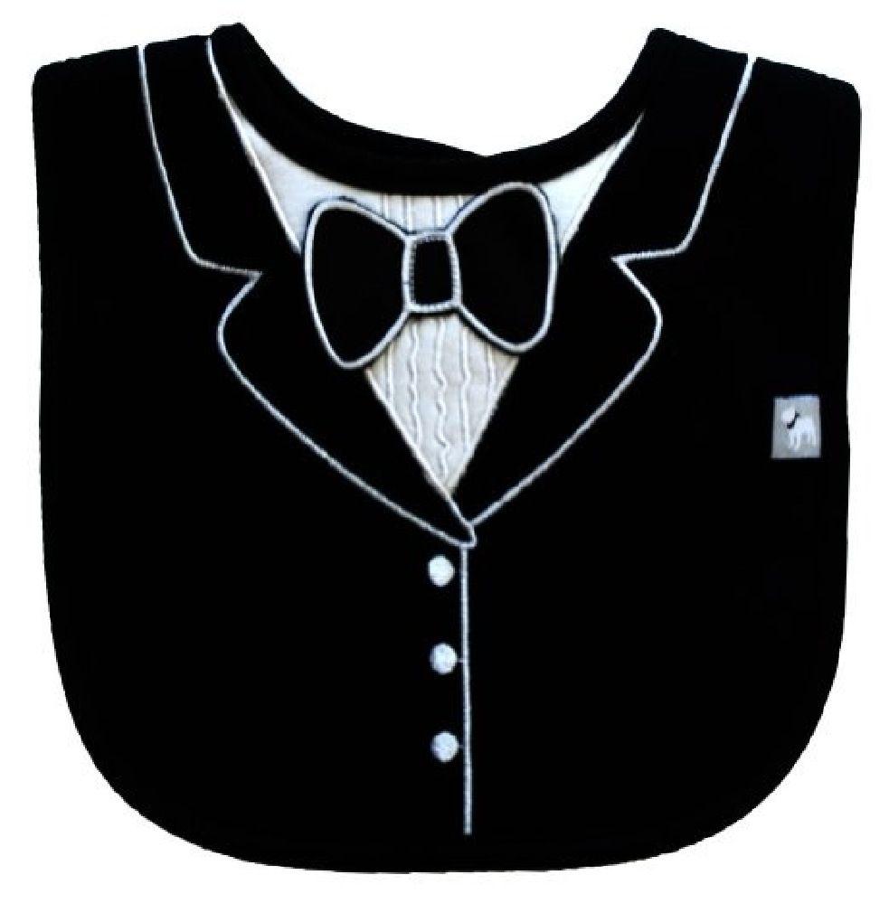 Frenchie Tuxedo Bib Black