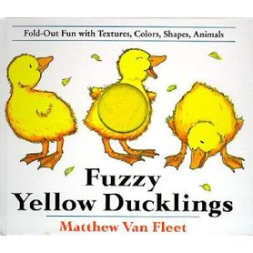 Fuzzy Yellow Duckling