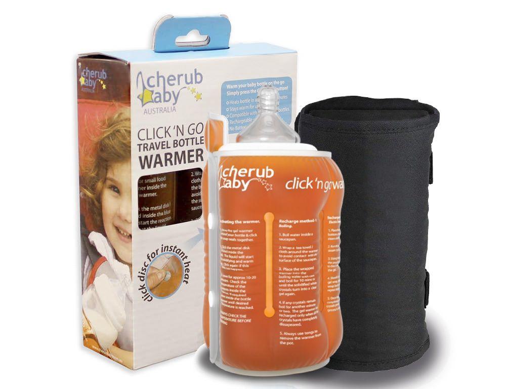 Cherub Baby Portable Bottle & Pouch Warmer Click N Go image 1