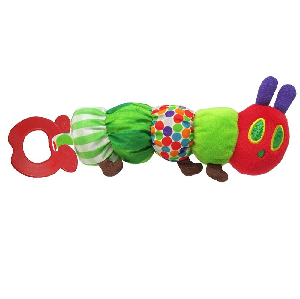 Very Hungry Caterpillar Teether Rattle 20cm image 0