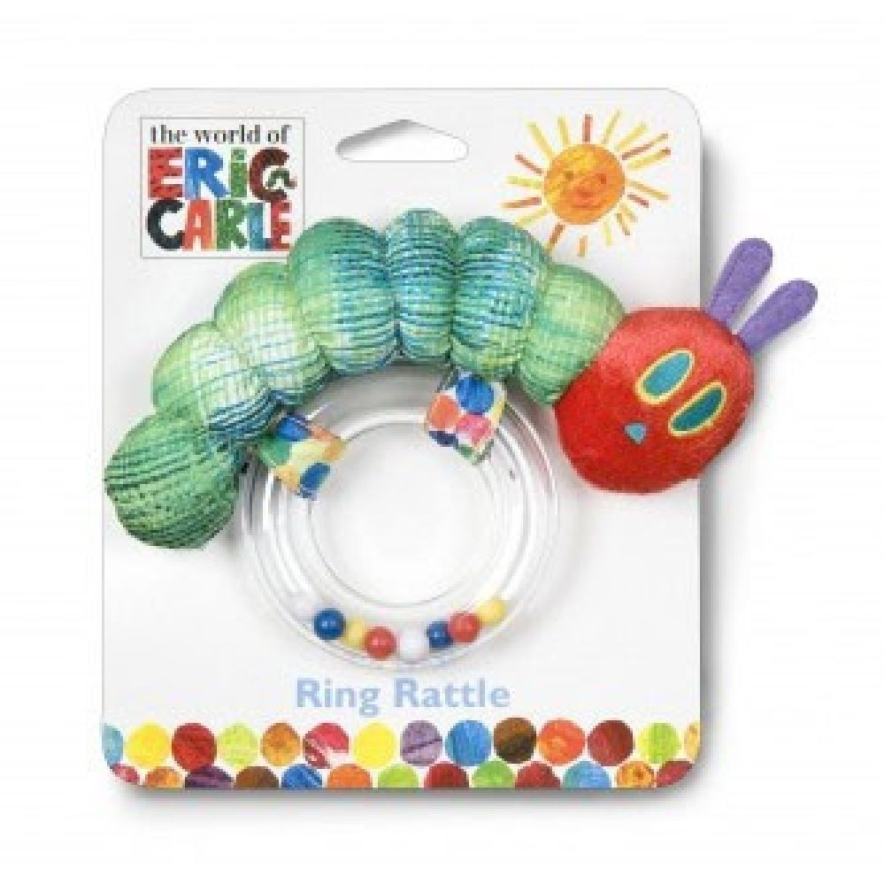 Very Hungry Caterpillar Ring Rattle image 0