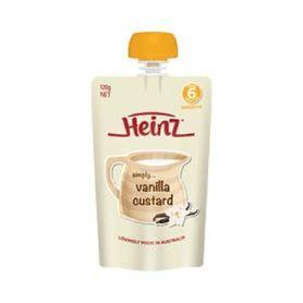 Heinz Simply Vanilla Custard 120g