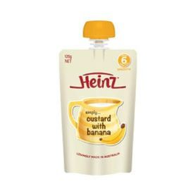 Heinz Simply Custard Banana 120g