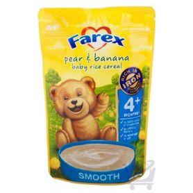 Farex Pear & Banana Baby Rice Cereal 125g 4mth