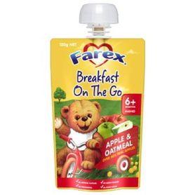 Farex Breakfast To Go Apple Oatmeal