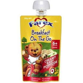 Farex Breakfast On The Go Creamy Apple Porridge