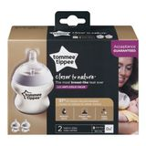 Tommee Tippee Closer To Nature Bottle- 150ml - 2 Pack image 1