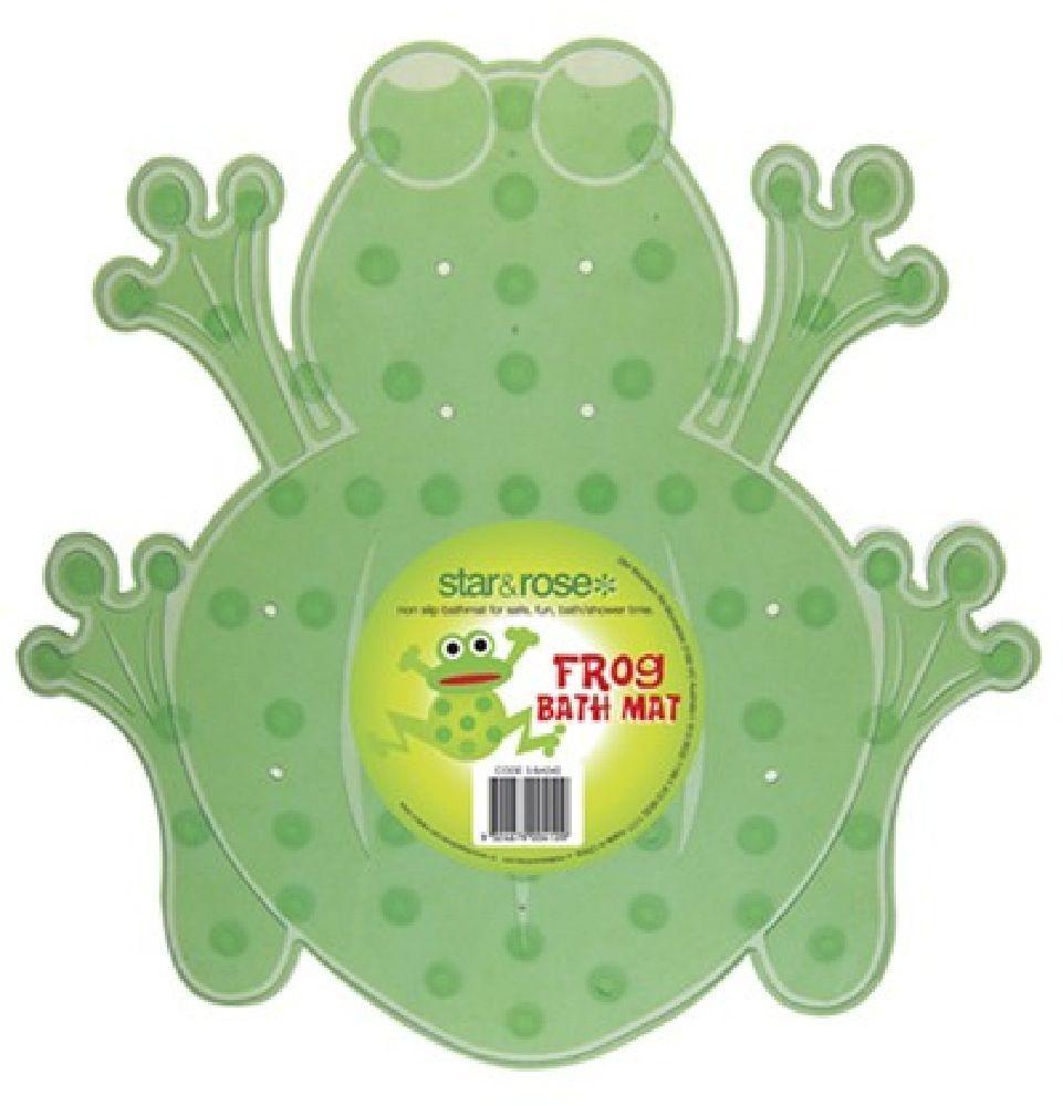 Star & Rose Bath Safety Mat Frog Mini image 0