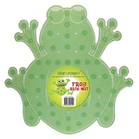 Star & Rose Bath Safety Mat Frog Mini