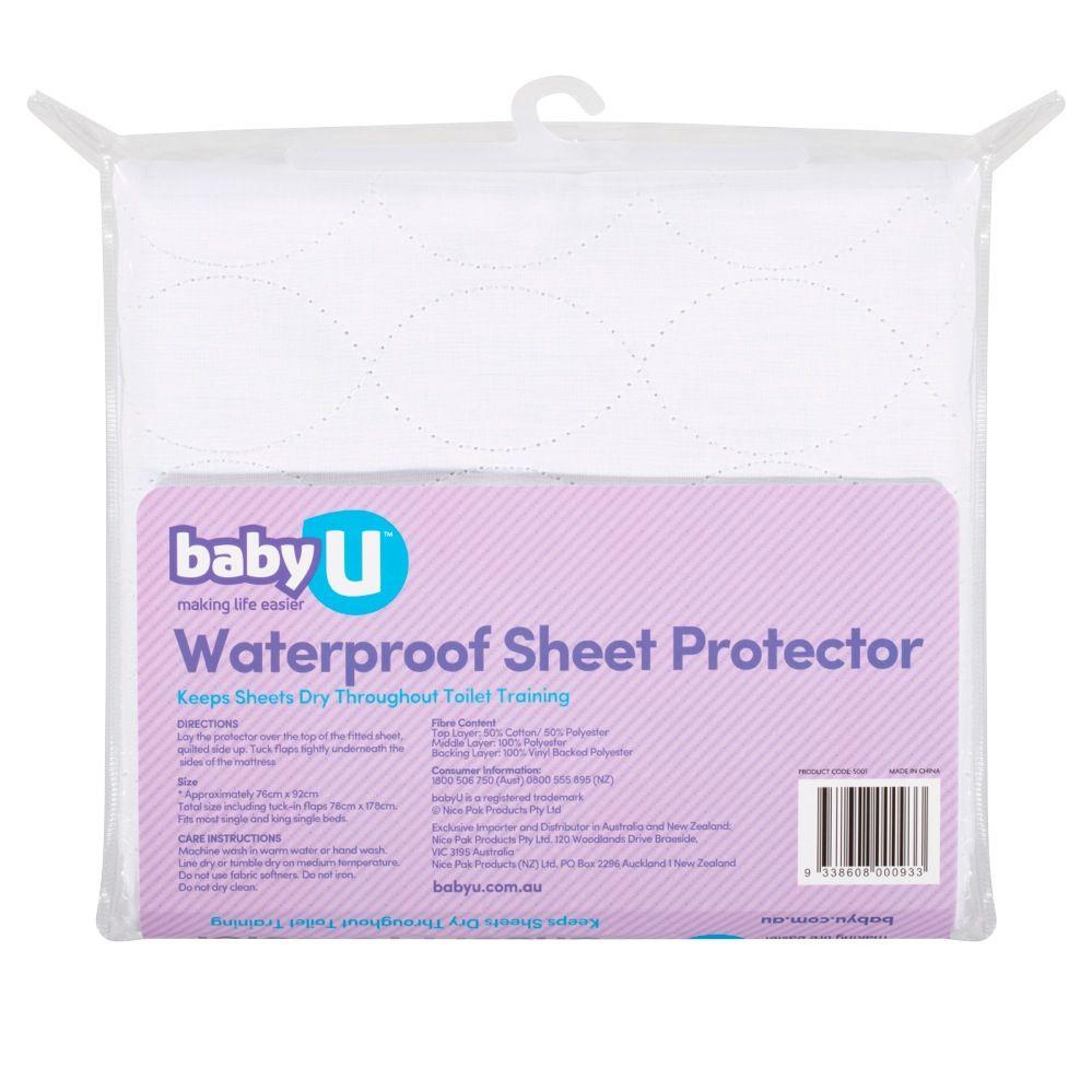 Baby U Waterproof Sheet Protector image 1