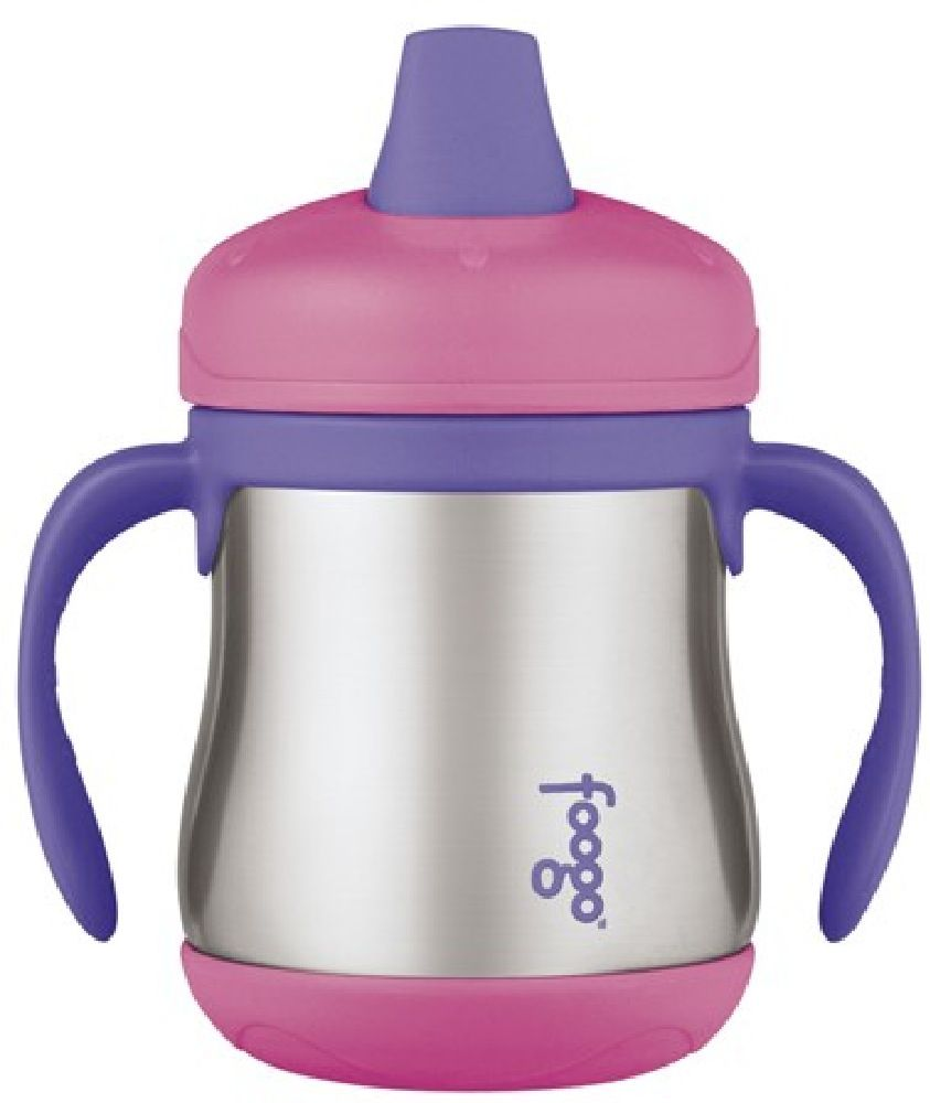 Thermos Foogo Cup Sippy Insulated Pink image 0