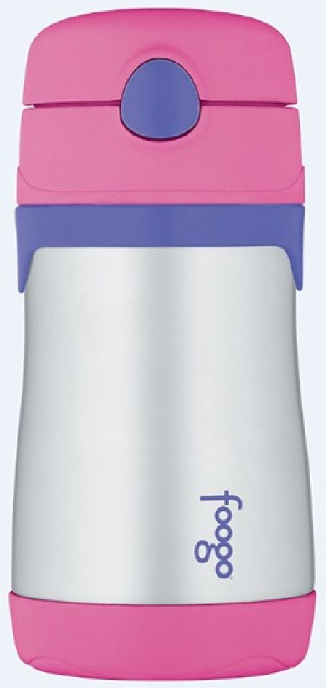 Thermos Foogo Bottle Insulated Pink image 0