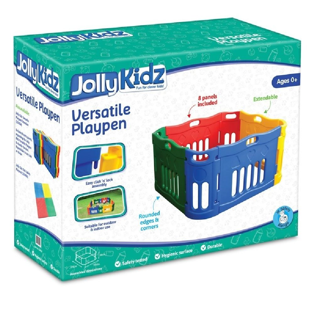 Jolly Kidz Versatile Plastic Playpen image 1