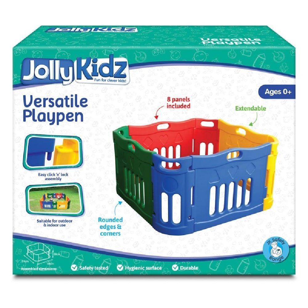 Jolly Kidz Versatile Plastic Playpen image 2
