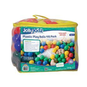 Jolly Kidz 105 Plastic Play Balls