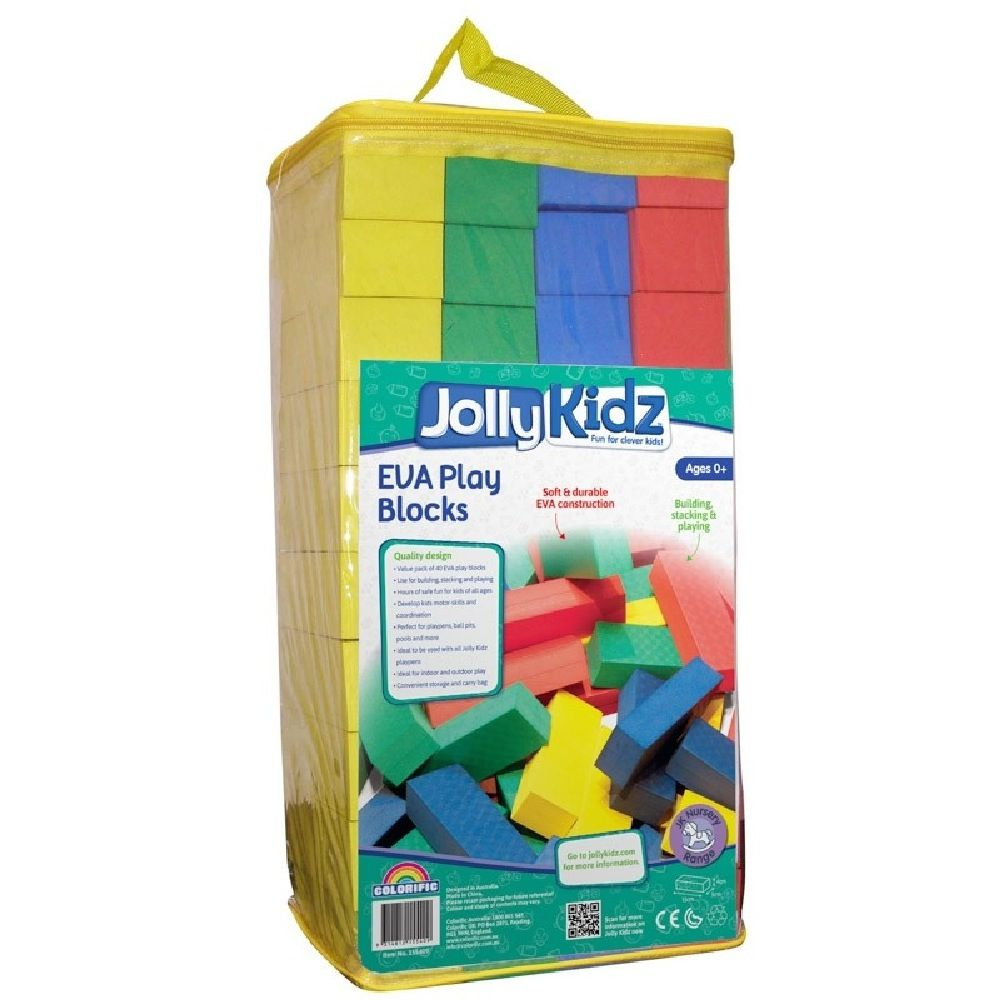 Jolly Kidz 40 EVA Playblocks image 0