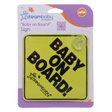 Dreambaby Baby On Board Sign image 0