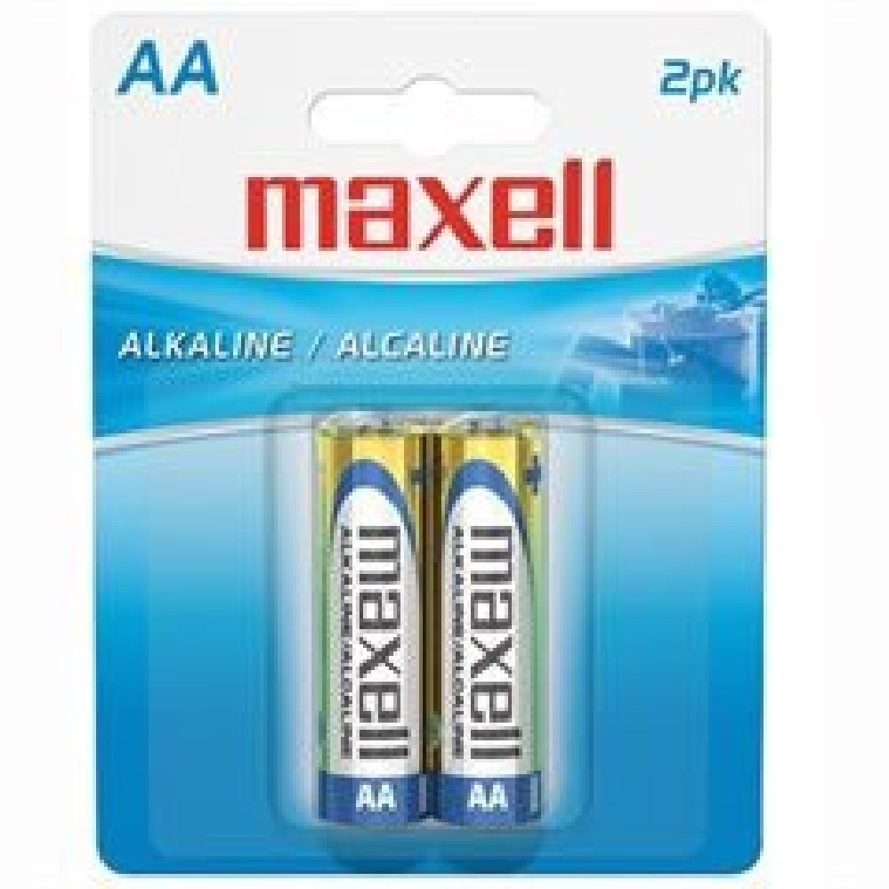 Maxell Batteries AA 2 Pack image 0