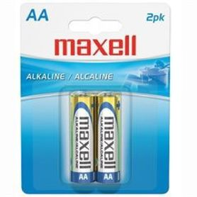 Maxell Batteries AA 2 Pack