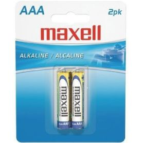 Maxell Batteries AAA 2 Pack