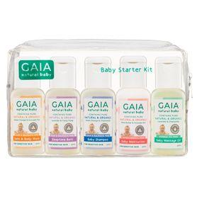 GAIA BABY STARTER KIT 5PK
