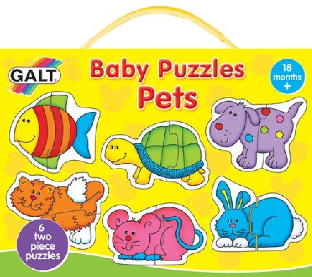 Galt Baby Puzzles Pets 2pc image 0