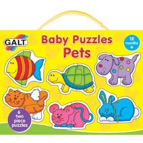 Galt Baby Puzzles Pets 2pc