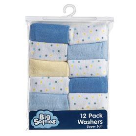 Big Softies Wash Cloth Parent 12 Pack