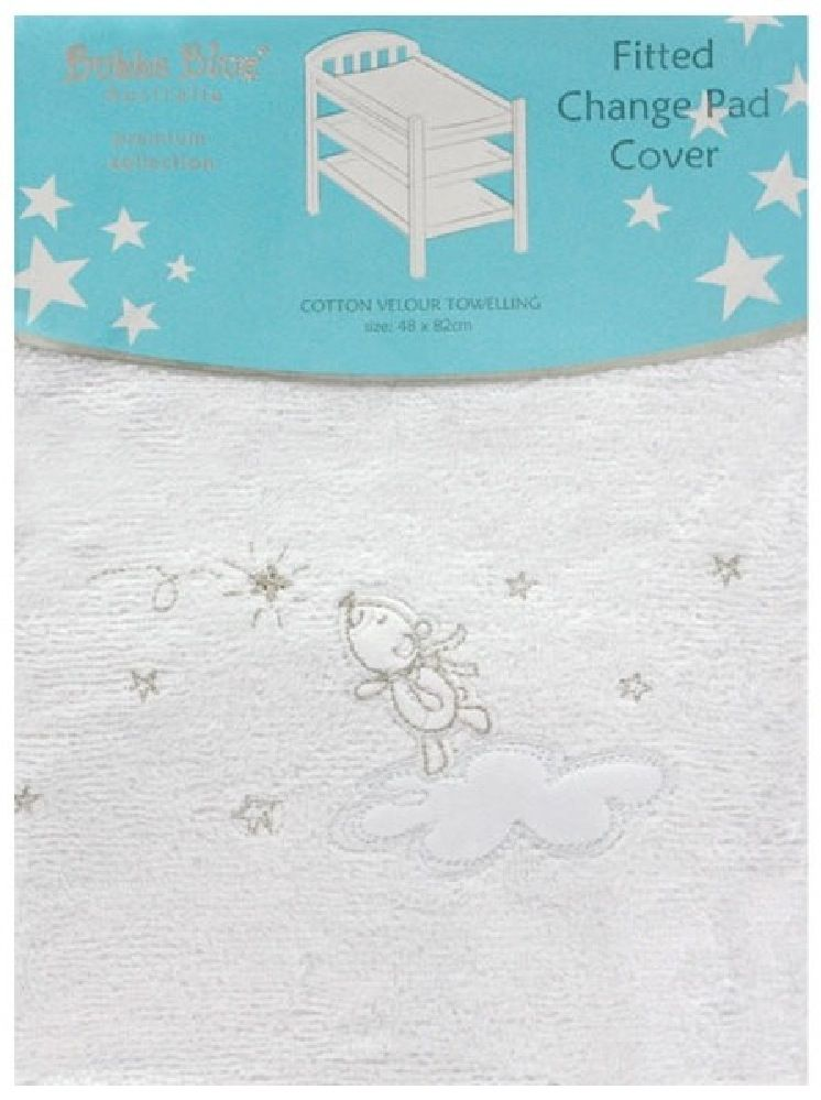 Bubba Blue Wish Upon A Star Change Pad Cover image 0