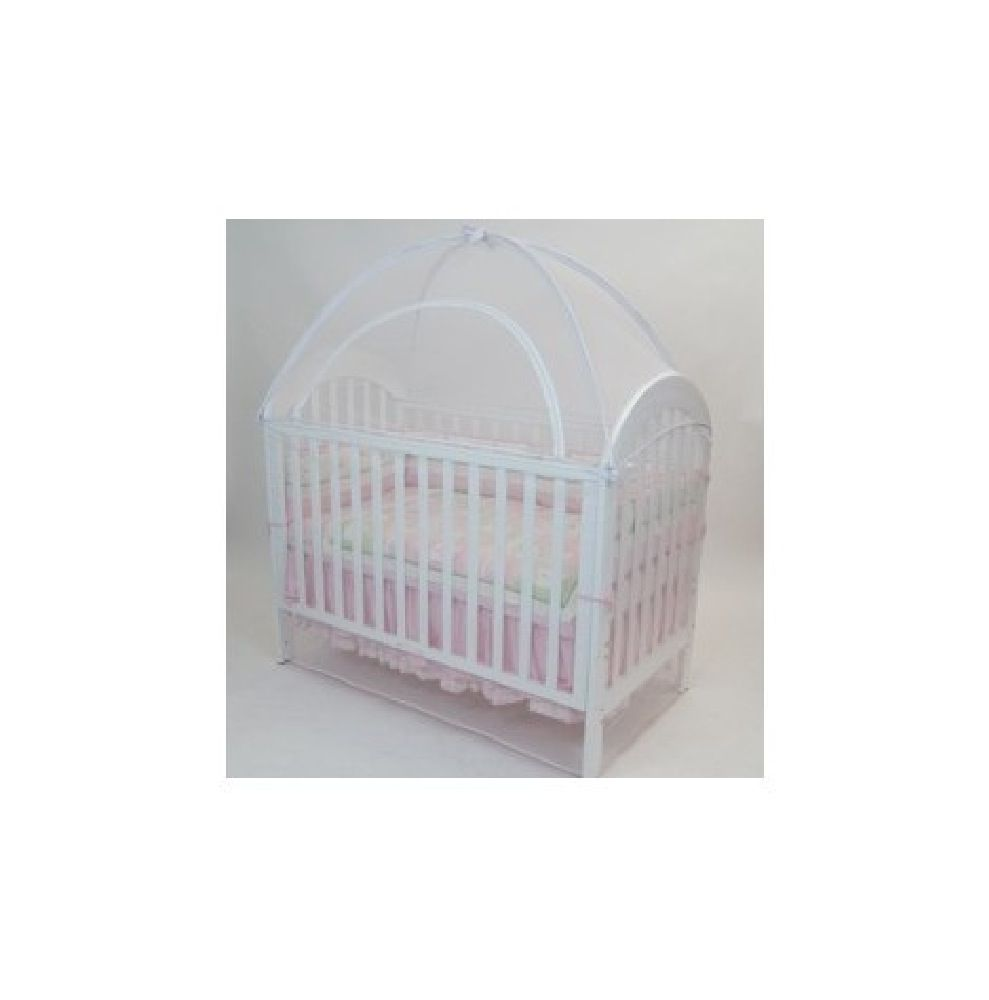 Babyhood Canopy Net Standard 131 x 75cm White