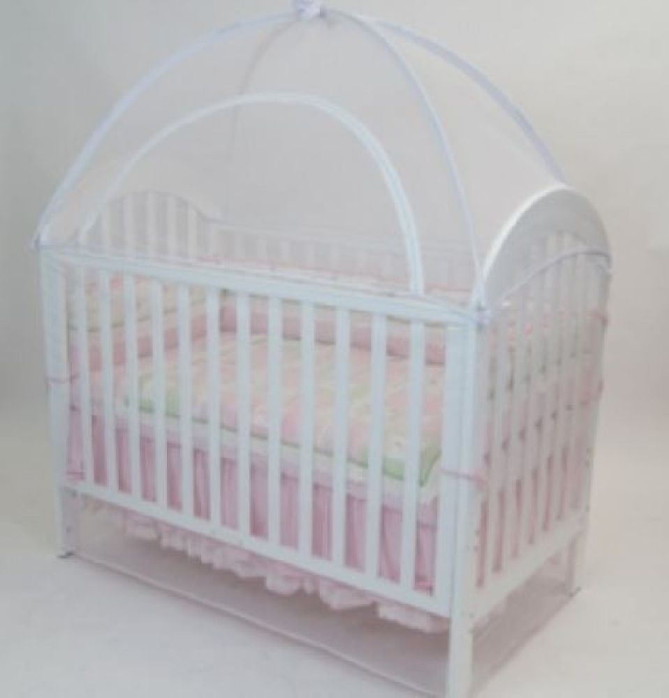 Babyhood Canopy Net Large 135 x 80cm White image 0
