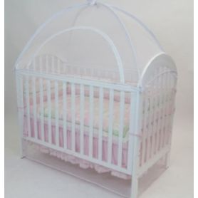 Babyhood Canopy Net Large 135 x 80cm White