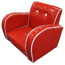 4Baby Kids Arm Chair Red