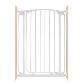 Dreambaby Chelsea Xtra-Tall Auto-Close Gate Pressure Mounted Fits Gaps 71-82 (cm) White
