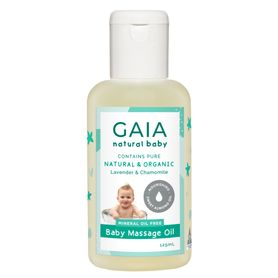 Gaia Natural Baby Baby Massage Oil 125ml