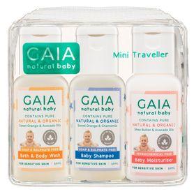 Gaia Natural Baby Mini Traveller Kit