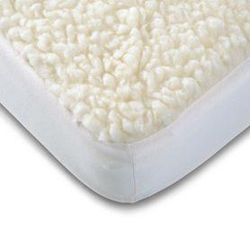 Babyrest Lambswool Underlay Cot Large