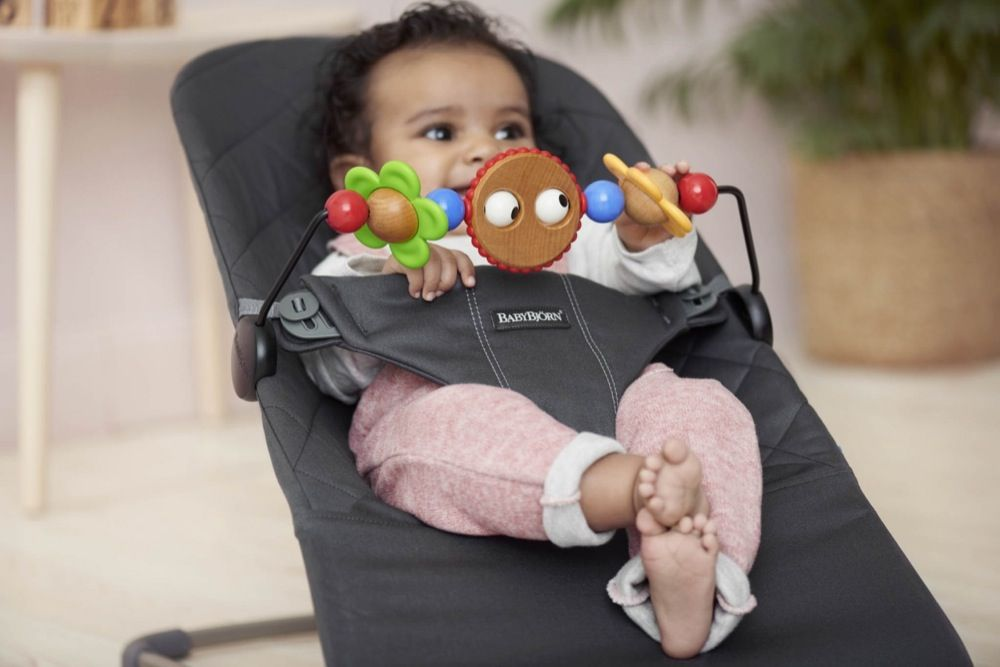 BabyBjorn Toy for Bouncer - Googly Eyes image 1