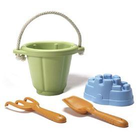 Green Toys Sand Play Set 4 Pc Set