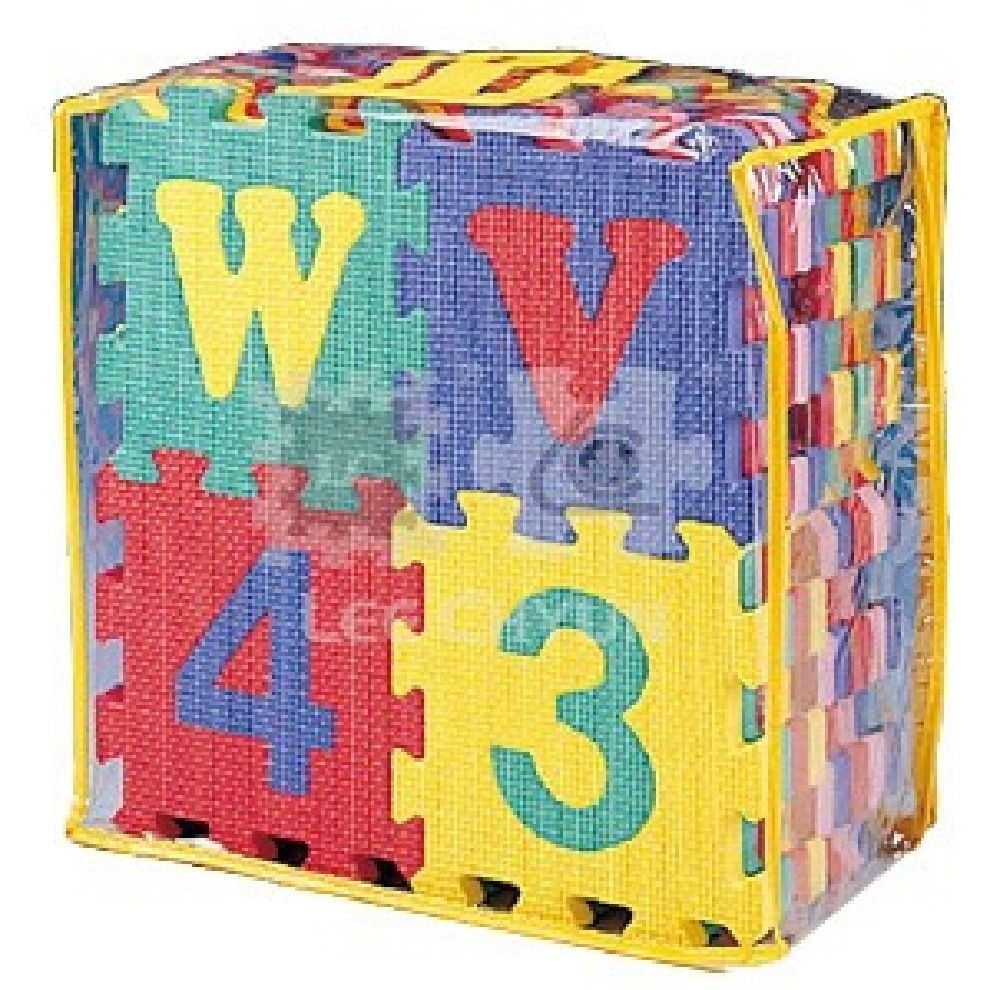Foam Mats Alphabet & Numbers Puzzle Small 36 Piece image 1