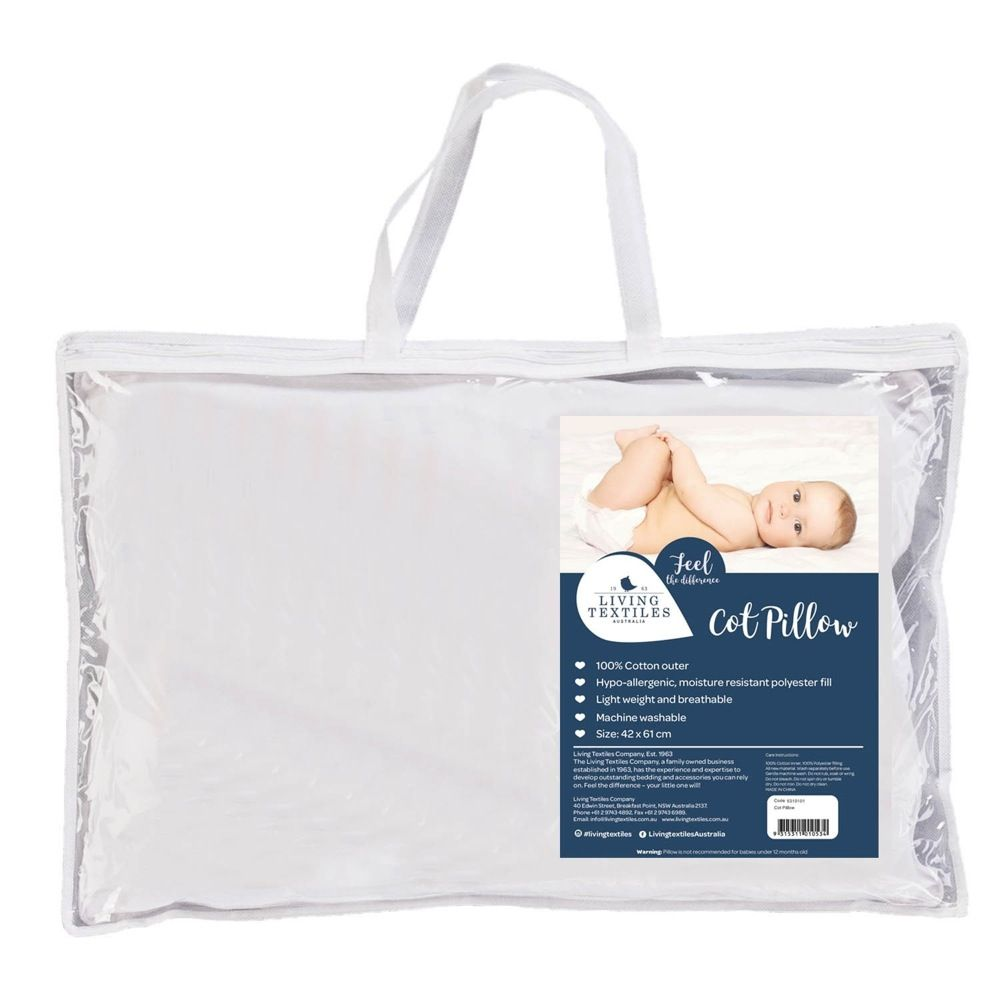 Living Textiles Cot Pillow
