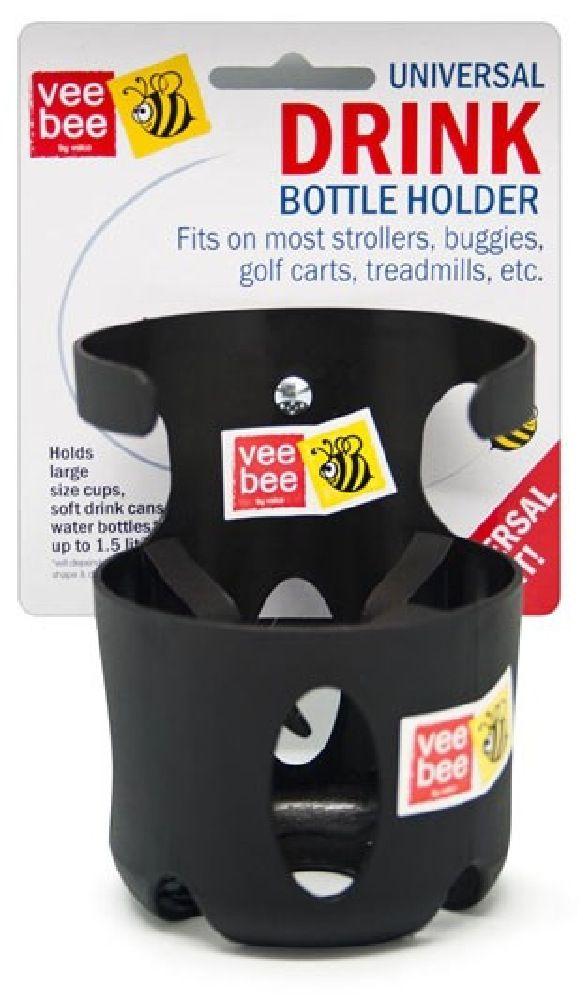 VeeBee Universal Bottle Holder Black image 0
