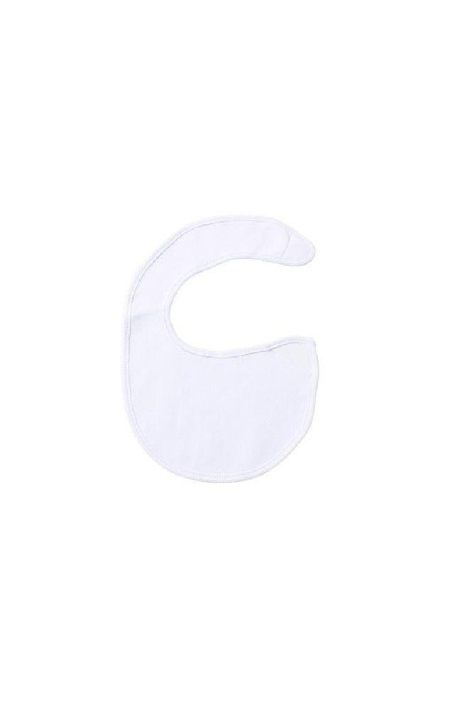 4Baby Newborn Soft Knit Bibs White 3 Pack image 1