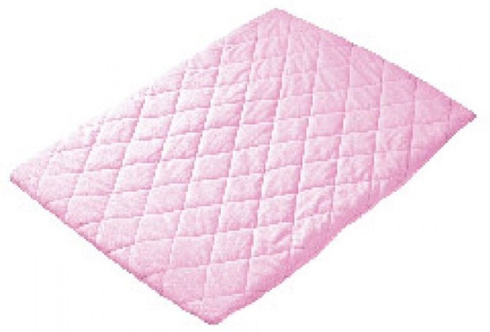 Playette Travel Cot Quilted Sheet Pink image 0