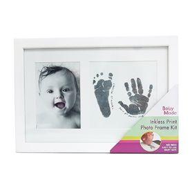 Baby Made Inkless Print Photo Frame White White